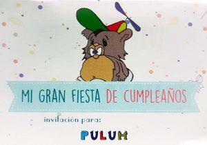 Invitación Parque de Bolas-Pulum Madrid